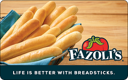 Fazoli's Gift Cards | Buy Now at SVM