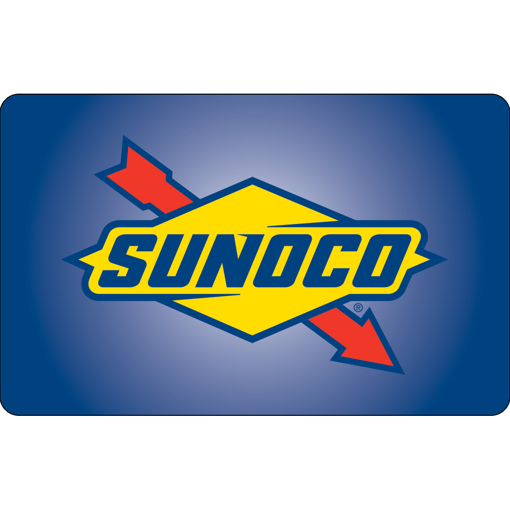 Sunoco Gas Gift Cards | Buy Now at SVM