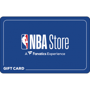 NBA Store gift card